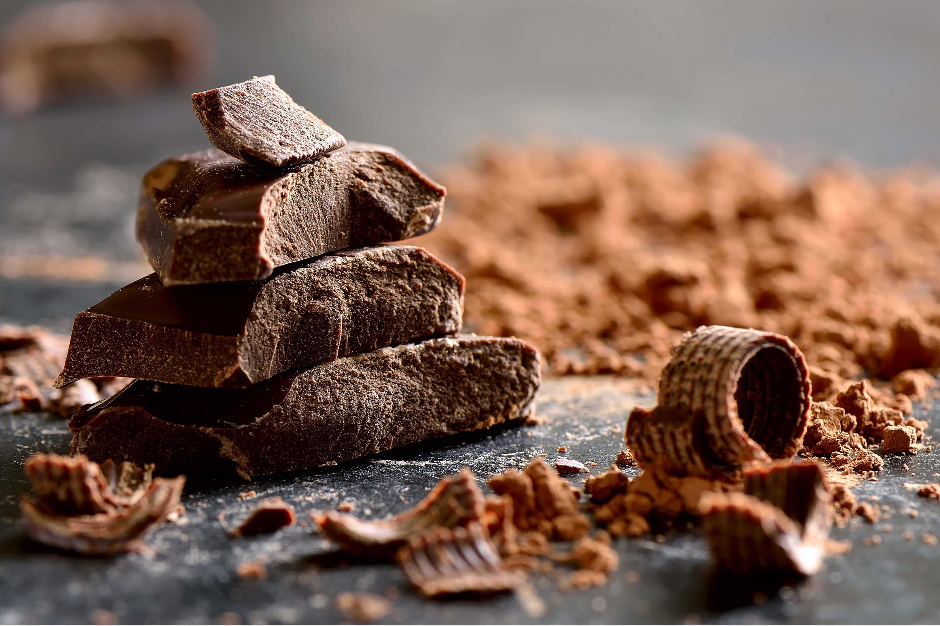 Yes! Eet chocola en voel je beter